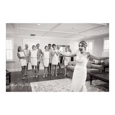 I love bridesmaid first looks! @jenninhsking @moderntrousseaucharleston @paperdollshair @wilsonsonwashington @nitsasapparel @moniquelhuillier  #jenningskingphotography #moderntrousseau #paperdollshair #nitsasapparel #moniquelhuillier #chswedding #charlestonwedding #lowcountrywedding #mtpleasantwedding #bride #bridesmaids