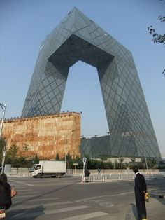 finally finished, CCTV Headquarters Architects: OMA  Location: Beijing, China  Project Area: 473,000 sqm  Project Year: 2012  Photographs: OMA, Iwan Baan, Jim Gourley, Philippe Ruault