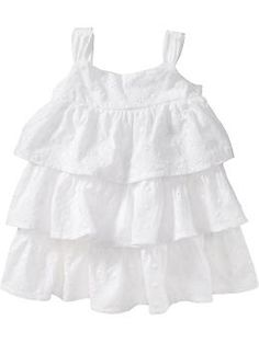 This is the cutest thing you can EVER put on a baby girl. It's simple but still georgeous.