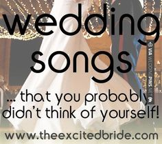 Fantastic! - Wedding Songs 2016 Wedding songs | CHECK OUT SOME SUPER COOL IDEAS…