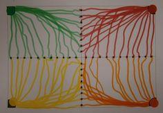 LA CLASE DE MIREN: mis experiencias en el aula: TALLER DE GRAFISMO: DEL PUNTO GORDO A LOS CUADRADITOS:
