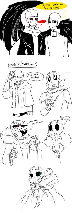 Gaster Doodles by Bunnymuse on DeviantArt
