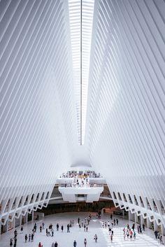 Oculus World Trade Center transportation hub, New York