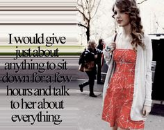 I probably wouldn't talk I would just let her talk to me and then let her read me a bed time story!