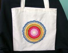 Tote bag multicolor de Priscila´s store por DaWanda.com