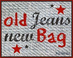 Du liebst Jeans?   Du liebst Taschen?     Dann zeig hier Deine selbstgenähten Taschen aus alten Jeanshosen, -jacken oder -hemden!    So fu...