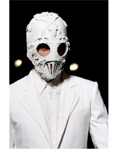 Givenchy Spring 2011 Menswear Fashion Show Details Fashion Mask, Fashion Show, Mens Fashion, Anti Fashion, Givenchy, Wave Gotik, Mode Costume, Leather Mask, You Look Like