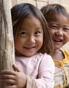 Enfants Hmongs