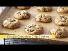 Bake With Anna Olson TV Show recipes on Food Network Canada; your exclusive source for the latest Bake With Anna Olson recipes and cooking guides. Classic Chocolate Chip Cookies Recipe, Chewy Chocolate Chip Cookies, Chocolate Chip Recipes, Chocolate Chips, Chocolate Blanco, Cake Chocolate, Homemade Chocolate, Chocolate Lovers, Anna Olson