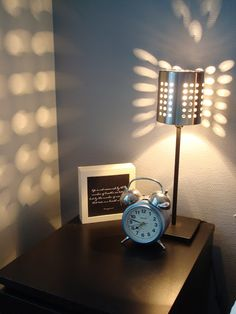 LidenSkapelse: Bestikkholder-lampe
