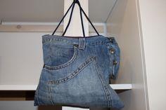 Jeans Bag #restyling #reuse #recycle #wood #jeans #bag #furniture #art #creativity #design #restyling #doridesign