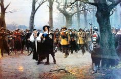 Charles I Execution Precession by Ernest Crofts