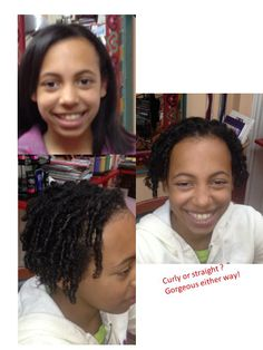 Curly or Straight?