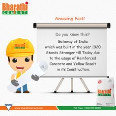 #Amazing #Concrete #Fact! An Intresting Fact on #India's Greatest #Monument.