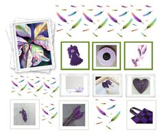 """""""Purple Gifts"""" by keepsakedesignbycmm ❤ liked on Polyvore featuring jewelry, art and accessories"""