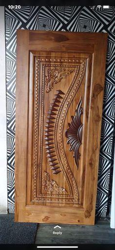 Main Entrance Door Design, Front Door Design Wood, Wooden Door Design, Wooden Doors, Door Design Photos, Tv Unit Furniture Design, Single Door Design, House Front Door, Victorian Furniture