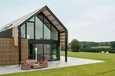 Nukerke barn house, barn house, adaptive reuse, living barn, Sito-architecten, Flemish Ardennes, renovated barn, green renovation, open plan layout, natural light, solar shading,