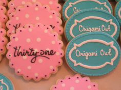 origami owl | 31 gifts and Origami Owl Cookies | Flickr - Photo Sharing!