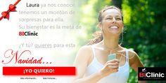Laura quiso regalar Deporte Saludable con BIClinic | Medicina y Traumatologia Deportiva Avanzada