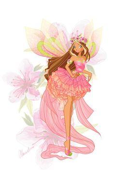 sirenix flora - winx club world Picture Bloom Winx Club, World Images, World Pictures, Winx Cosplay, Winx Magic, Dessin Animé Lolirock, Les Winx, Arte Fashion, Flora Winx