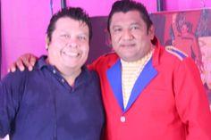 Mi amigo Heri con ell Sr. Luis :)
