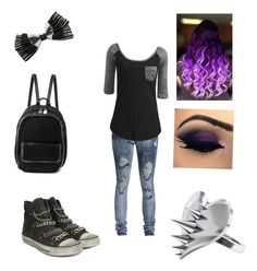 """Untitled #8"" by emily3264 ❤ liked on Polyvore featuring True Rock, Wet Seal, Ash, STELLA McCARTNEY and LUSASUL"