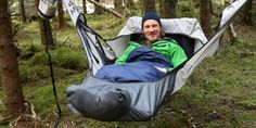 OK, so you think you have a hammock? Well, check out this one! #camping #outdoors