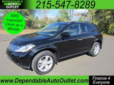 Used 2005 Nissan Murano for Sale in Philadelphia PA 19030 Dependable Auto Outlet