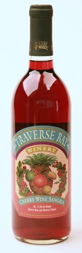Cherry wine.  Just not the same from anywhere but Traverse city