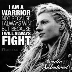 I will always fight