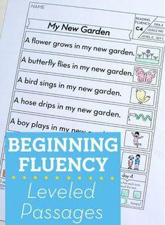A Teacher's Guide to Fluency