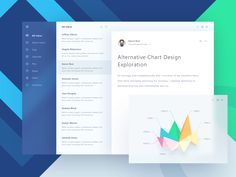 Fluent Design Email App by Ghani Pradita