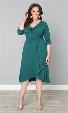 635617114a3 Draped in Class Dress Evening Dresses Plus Size