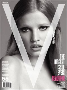 Lara Stone - V Magazine [United States] (September 2008)