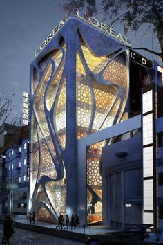 L'Oreal Building by IAMZ Design Studio