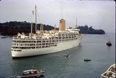SS Chusan. Spent many interesting months on board touring the world as a child.