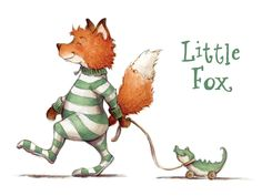 """Lisa Anchin - Little Fox  lisaanchin.com This picture reminds me of my Dad; he always refers to me and my siblings as """"little fox"""" :)"""