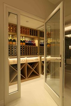 Wine Cellar Lighting Design by John Cullen Lighting
