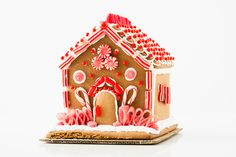 5 Ways to Decorate the Best Gingerbread House EVER via Brit + Co.