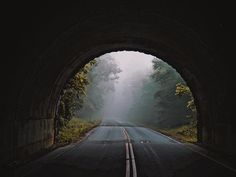 Tunnel Vision || We enjoyed our trip to North Carolina! #blueridgeparkway