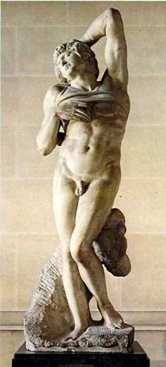 Michelangelo dying slave