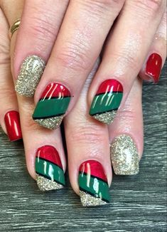 Christmas Nails  by NailsByAlly from Nail Art Gallery