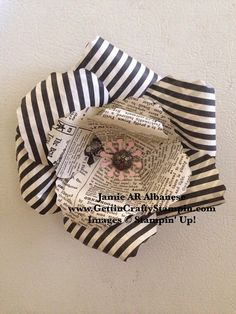 Gettin' Crafty Stampin' with Jamie: Pin a Flower to it