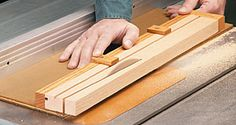 Taper Jig for Table Saw - Woodwork City Free Woodworking Plans