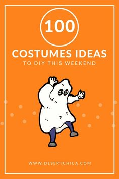 Over 100 easy DIY costumes for kids, for adults, for boys, for teen girls, for everyone! There's still time to make your own creative Halloween costume last minute with these simple tutorials.