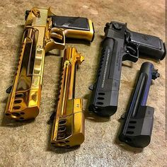 Firearms Guns Weapons Shooting: - Desert Eagle Compensating - By: - . Weapons Guns, Airsoft Guns, Guns And Ammo, Armadura Ninja, Bruder Tattoo, Armas Ninja, Desert Eagle, Shooting Guns, Custom Guns