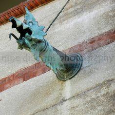Augustine FL - or Revival Architecture, Architecture Details, Architecture Art, Copper Gutters, Water Spout, Detail Art, Moorish, Custom Canvas, Antique Metal