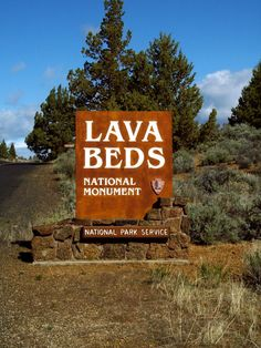 The Lava Beds National Monument is located in Siskiyou and Modoc counties in the far northeast corner of California.