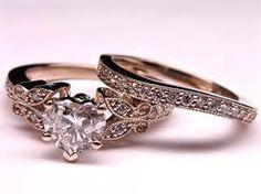 Vintage Rose Gold Engagement Rings - Bing images