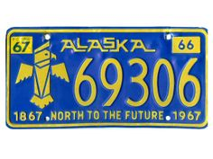 Alaska: 1966 to 1967  ::  North to the Future, a clear hint at the lucrative oil boom the state would experience in the coming decades.